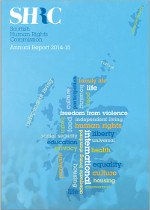 The Scottish Human Rights Commission Annual Report 2014-15 - click to view.