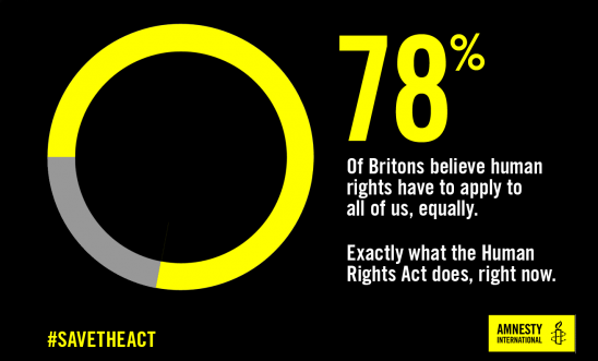 Human Rights Act Statistic from Amnesty International