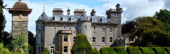 The ceremony will take place in the majestic Findlaystone Estate