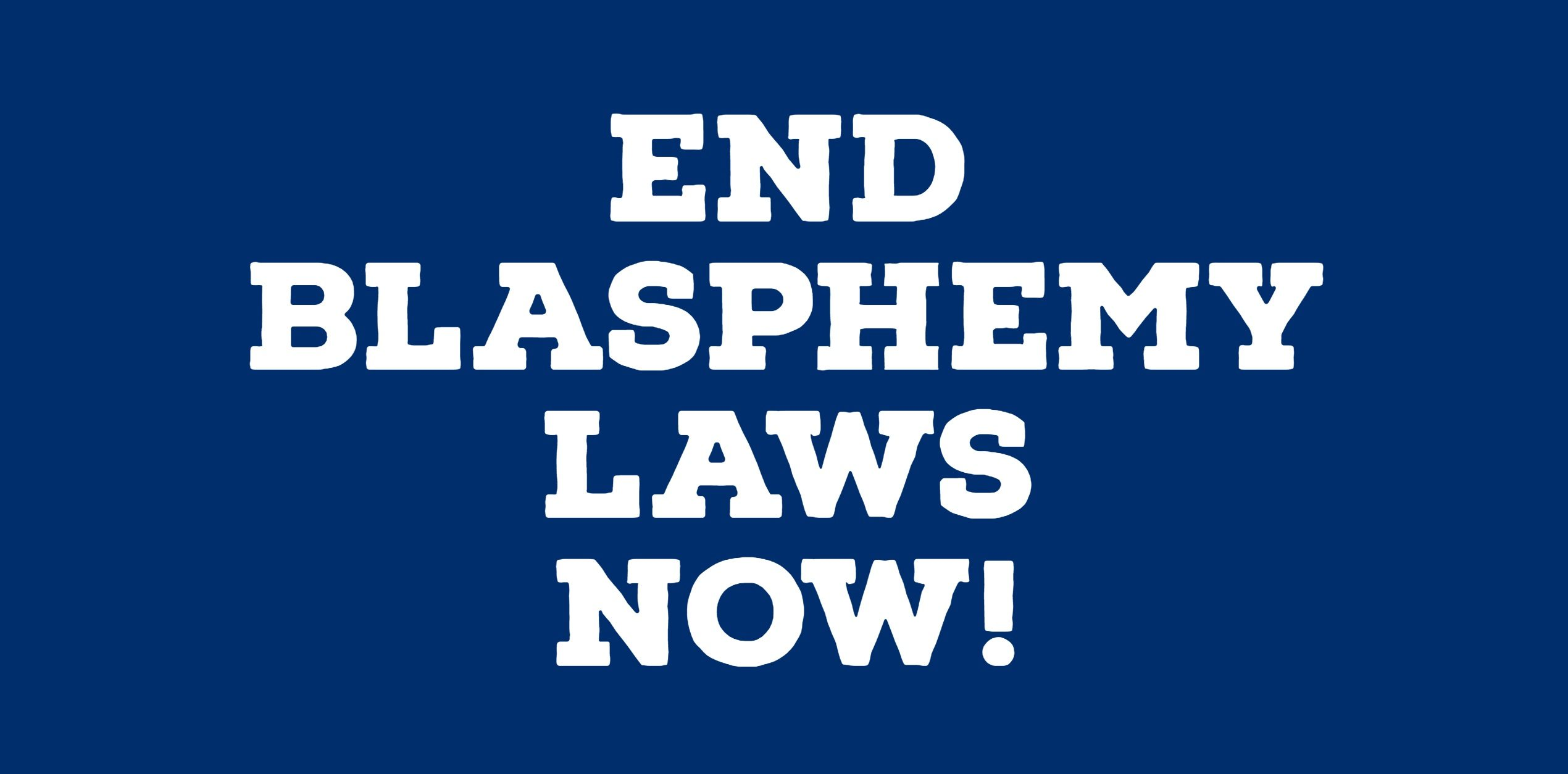 End Blasphemy Laws Campaign